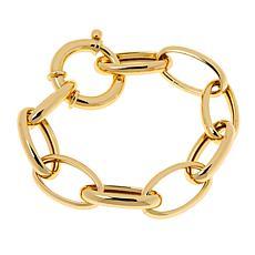 Bellezza Bronze Bold Oval Link Bracelet