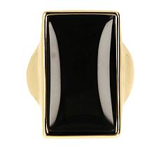 Bellezza Bronze Onyx Elongated Ring
