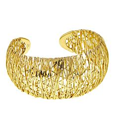 Bellezza Bronze Wire-Wrapped Cuff Bracelet