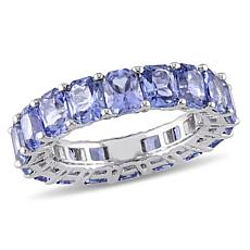 Bellini 14K White Gold Sapphire Eternity Band Ring
