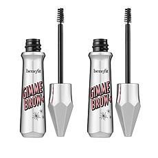 Benefit Cosmetics 2pk Gimme Brow+ Brow-Volumizing Fiber Gel- Cool Grey