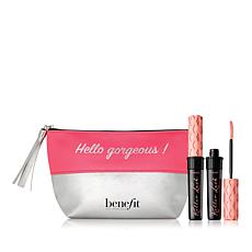 Benefit Cosmetics Roller Lash Mascara Duo with Makeup Bag
