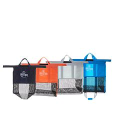 BergHOFF 4-pack Polyester Color-Coded Trolley Bags