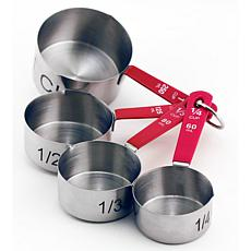 BergHOFF 4-piece Stainless Steel Measuring Cups Set