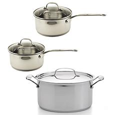 BergHOFF® EarthChef Premium 18-10 Stainless Steel 6-piece Cookware Set