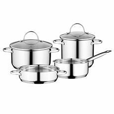 BergHOFF Essentials Comfort 6-Piece 18/10 SS Cookware Set