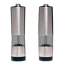 BergHOFF® Geminis Electronic Salt & Pepper Mill Set