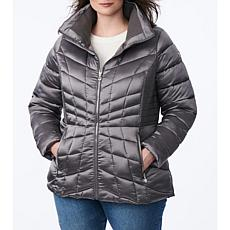 Bernardo Plus-Size EcoPlume Packable Jacket