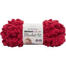 Bernat Alize Blanket-EZ Yarn - Bright Red