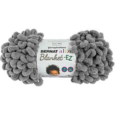 Bernat Alize Blanket-EZ Yarn - Dark Gray