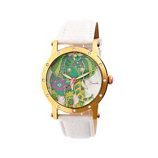 Bertha Betsey Mother-of-Pearl Dial Bracelet Watch
