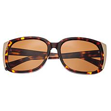 Bertha Natalia Polarized Sunglasses Tortoise Frame Brown Lens