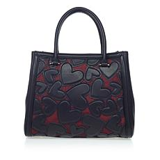 Betsey Johnson Bachelor of Fine Hearts Satchel