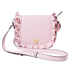 Betsey Johnson Ruffle Me Up Saddle Bag