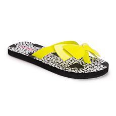 Betsey Johnson Women's Bow Flip Flops