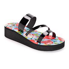 Betsey Johnson Women's Low Wedge Sandals