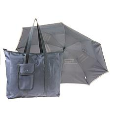 BetterBrella Compact Auto Open/Close Umbrella with Matching Carry Bag