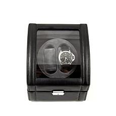 Bey-Berk 2 Watch Winder Leather Case