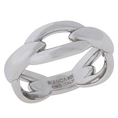Bianca Milano Sterling Silver Fancy Band Ring