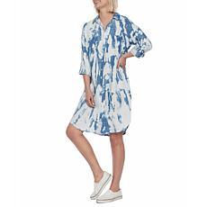 Billy T Blue Paint Shirtdress