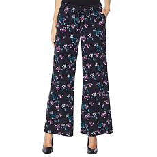 Billy T Drawstring Wide Leg Pant