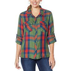 Billy T High Desert Plaid Classic Button-Up Shirt