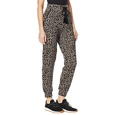Billy T Jungle-Print Pull-On Jogger Pant