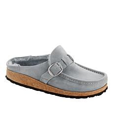 Birkenstock Buckley Leather Shearling Clog