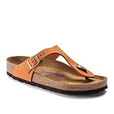 Birkenstock Gizeh Soft Footbed Leather Sandal
