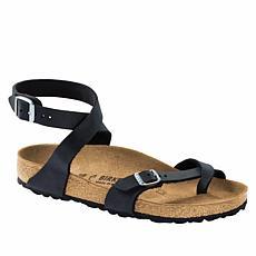 Birkenstock Yara Oiled Leather Toe Ring Sandal