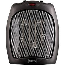 Black & Decker 1,500-Watt Desktop Ceramic Heater (Black)