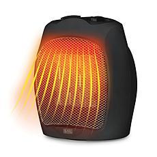 Black & Decker 1,500-Watt Desktop Ceramic Heater (Black)