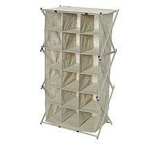 Black + Decker® 18 Compartment Collapsing Shoe Cubby