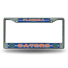 """Bling"" License Plate Frame - University of Florida"