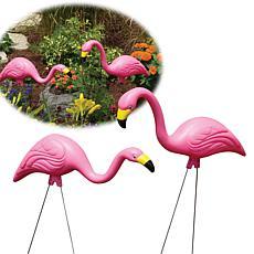 Bloem 2-Pack Pink Flamingo Lawn Statues