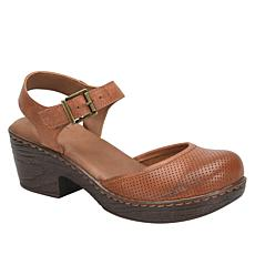 b.o.c. Stone Leather Clog Mary Jane