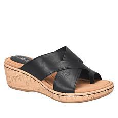 b.o.c. Summer Toe-Loop Wedge Sandal