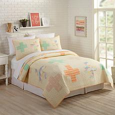 Bonnie Christine Hillside Springs 2pc Quilt Set - Twin