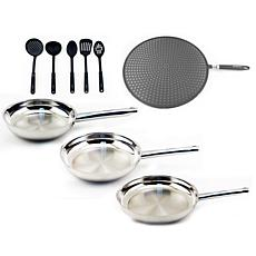 Boreal 9-piece Stainless Steel Cookware Set