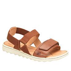 Born® Alli Adjustable Leather Stretch Sandal