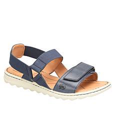 Born® Alli Adjustable Leather Stretch Sport Sandal
