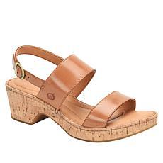 Born® Aztel Leather Slingback Sandal
