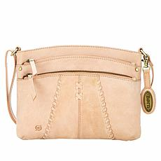 Born® Chianti Distressed Leather Crossbody Bag