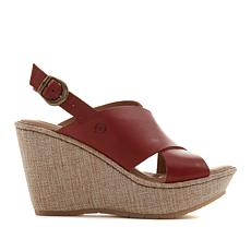 Born® Emmy II Platform Wedge Sandal