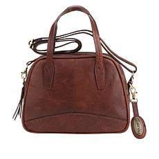 Born Manolo Leather Satchel