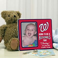 Born to be a Washington Nationals Fan Photo Frame