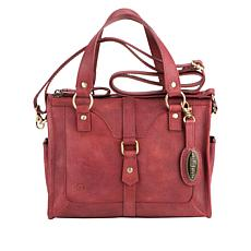 Born Valentino Leather Satchel