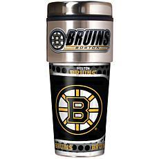 Boston Bruins Travel Tumbler w/ Metallic Graphics and T