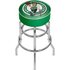 Boston Celtics NBA Padded Swivel Bar Stool