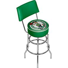 Boston Celtics Padded Swivel Bar Stool with Back